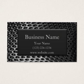 Steel and Chrome Business Card
