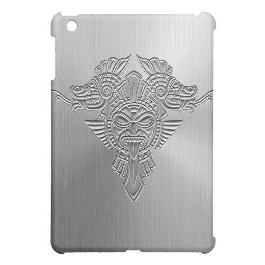 Steel Aztec iPad Mini Covers
