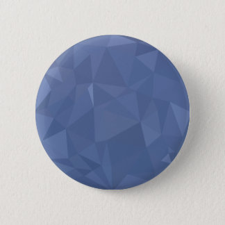 Steel Blue Abstract Low Polygon Background 2 Inch Round Button