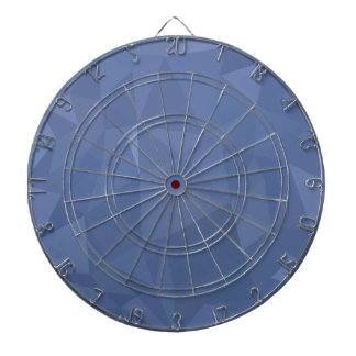 Steel Blue Abstract Low Polygon Background Dartboard