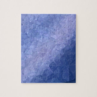 Steel Blue Abstract Low Polygon Background Jigsaw Puzzle
