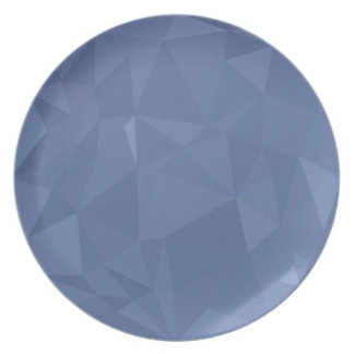 Steel Blue Abstract Low Polygon Background Plate