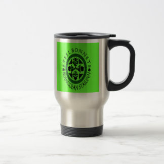 Steel Bonnets travel mug