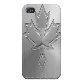 Steel Canada iPhone 4/4S Cover