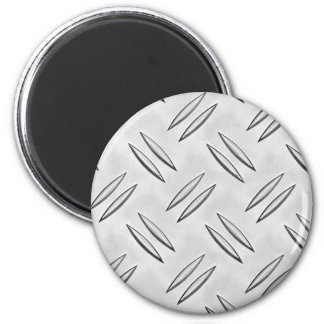Steel checker plate magnet