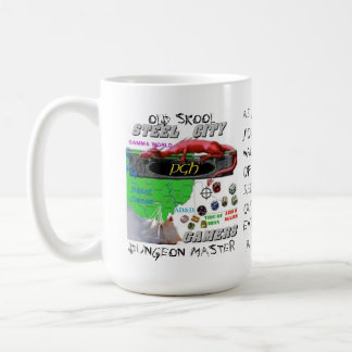 Steel City Gamers Old Skool DM Mug