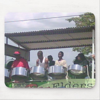 Steel Drum Band playing in Carnival Mouse Pad