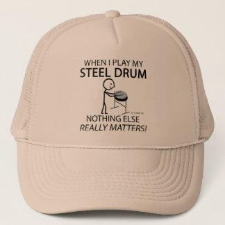 Steel Drum Nothing Else Matters Trucker Hat