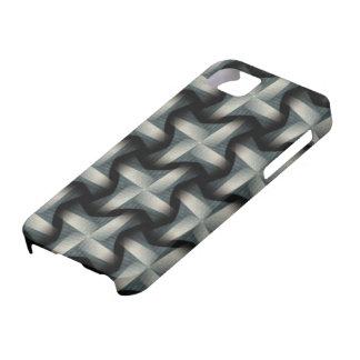 Steel Fan Breeze Abstract Weave Pattern iPhone 5 Covers