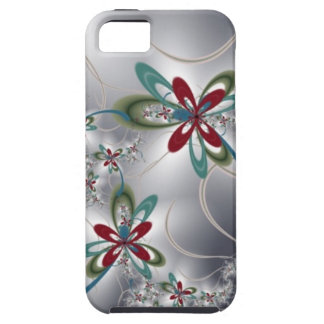 Steel Flowers iPhone 5 Cover