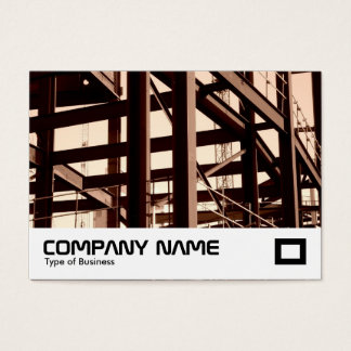 Steel Frame Construction Business Card