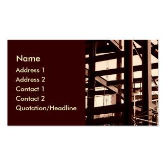 Steel Frame Construction Business Card
