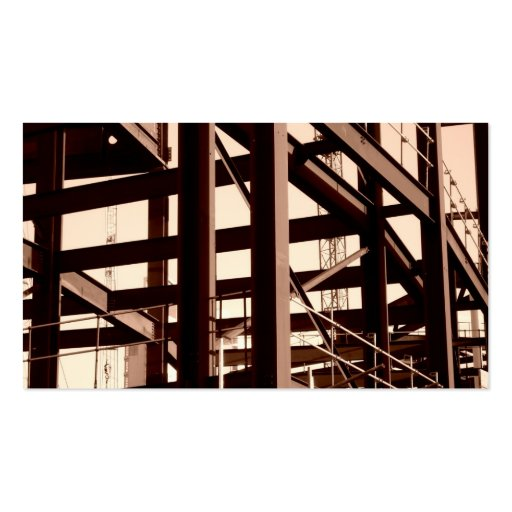 Steel Frame Construction II, Mini Photo Business Cards