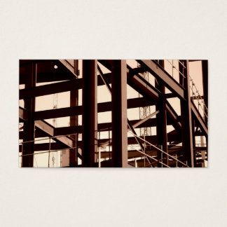 Steel Frame Construction II, Mini Photo Business Card