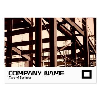 Steel Frame Construction Large Business Card