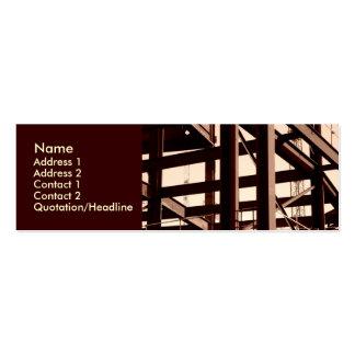 Steel Frame Construction Mini Business Card
