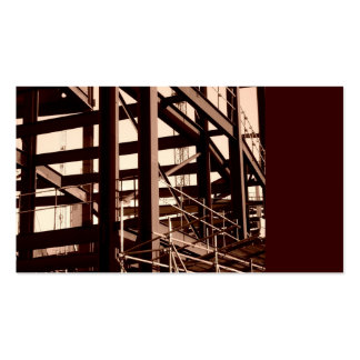 Steel Frame Construction, Mini Photo Pack Of Standard Business Cards