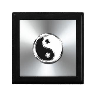 Steel Gradient Graphic Yin-Yang Symbol Gift Box