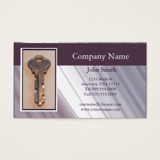 Steel Key Business Card