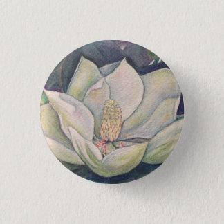 Steel Magnolia 1 Inch Round Button