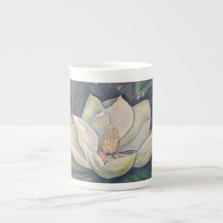 Steel Magnolia Bone China Mug