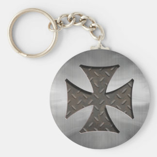 Steel Maltese 416 Keychain
