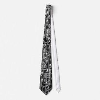 Steel Notes Tie
