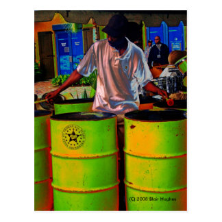 Steel Pan Drummer SD0108 Postcard