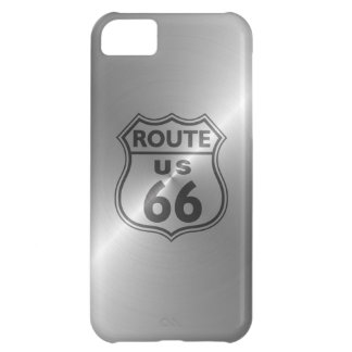 Steel Route 66 Cover For iPhone 5C