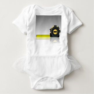 steel ruler baby bodysuit