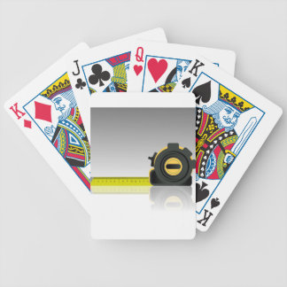 steel ruler bicycle playing cards