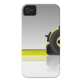steel ruler iPhone 4 Case-Mate case