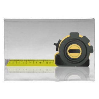 steel ruler placemat