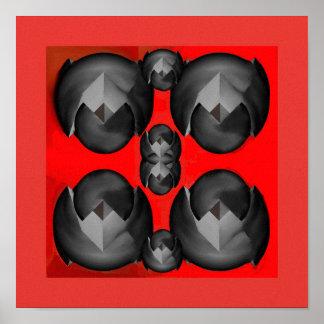 Steel Spheres Poster