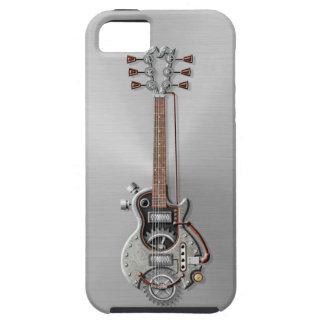 Steel Steampunk Guitar iPhone 5 Cover