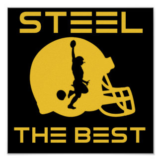 Steel The Best Poster