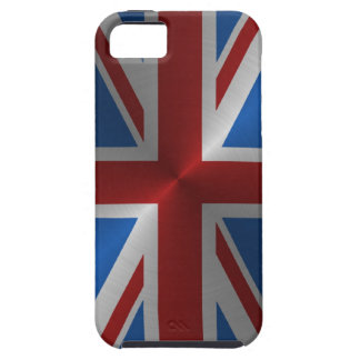 Steel Union Jack iPhone 5 Cover
