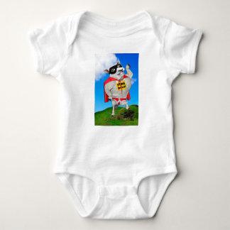 STEEL WOOL BABY BODYSUIT