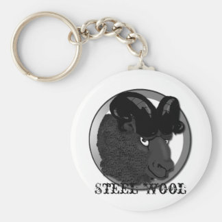 Steel Wool Keychain