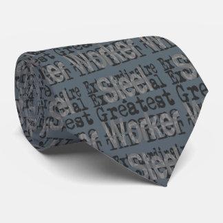 Steel Worker Extraordinaire Tie