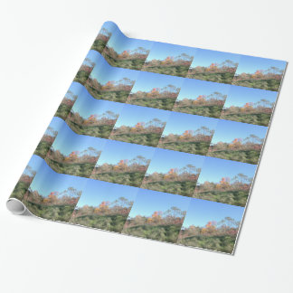Steep Hill Wrapping Paper