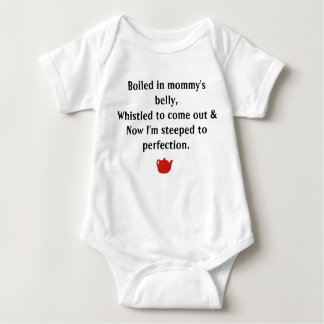 Steeped To Perfection Baby Bodysuit