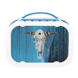 Steer Skull Lunchbox