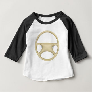 Steering wheel - front view baby T-Shirt