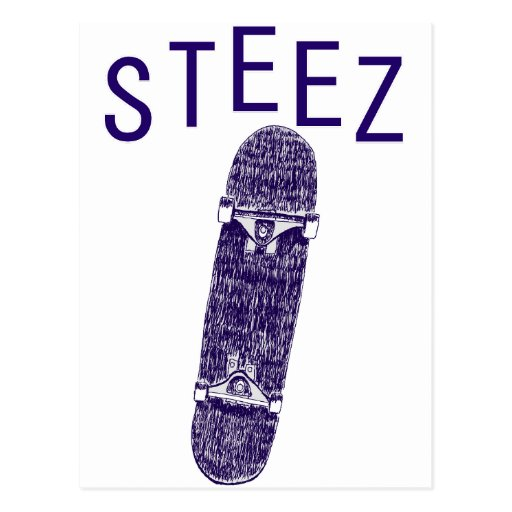 steez post cards