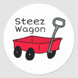 Steez Wagon Sticker