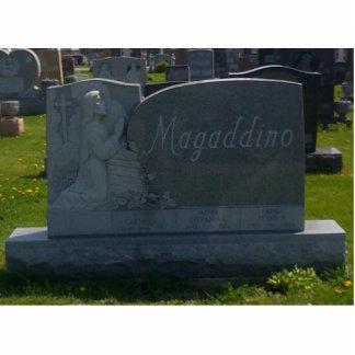 Stefano Magaddino monument Acrylic Cut Outs
