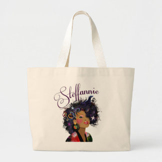 """ Steffannie"" (Personalized Tote) 2 Large Tote Bag"