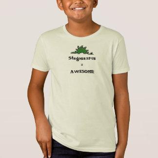 Stegosaurus=AWESOME! T-Shirt