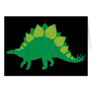 Stegosaurus Cartes De Vœux